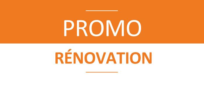 Promo rénovation