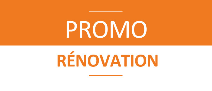 Promo rénovation